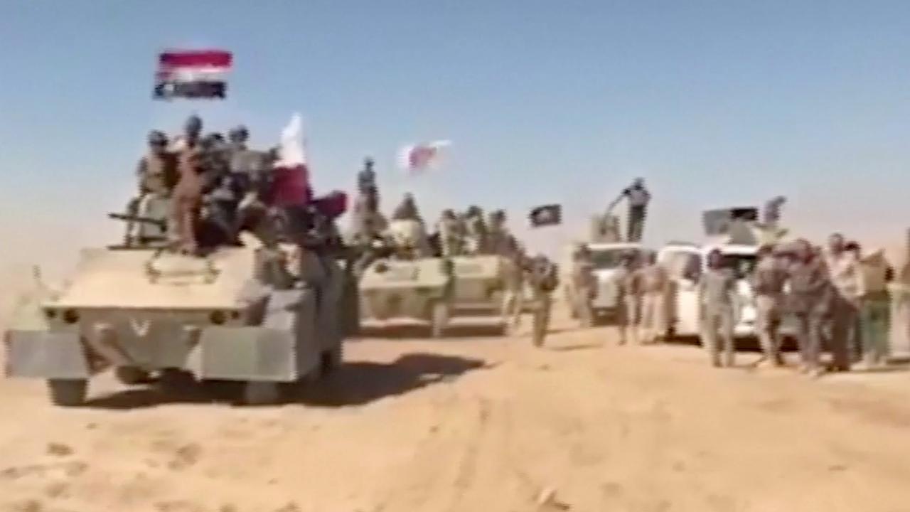 Iraakse troepen rukken op naar IS-bolwerk Tal Afar