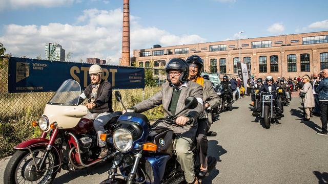 Distinguished Gentleman's Ride in Utrecht