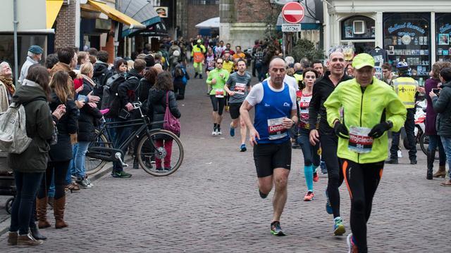 Duizenden deelnemers aan marathon Utrecht