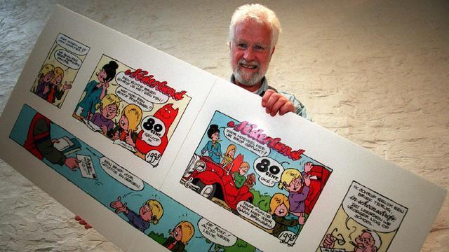 Stripmuseum toont uniek materiaal van tekenaar Jan Kruis