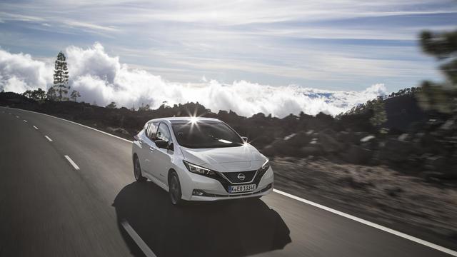 Nissan Leaf scoort 5 sterren in nieuwe botsproef