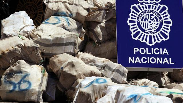 Spanje pakt Nederlander op met 1.950 kilo cocaïne