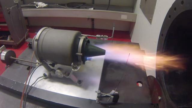 Amerikanen testen kleine 3d-geprinte straalmotor