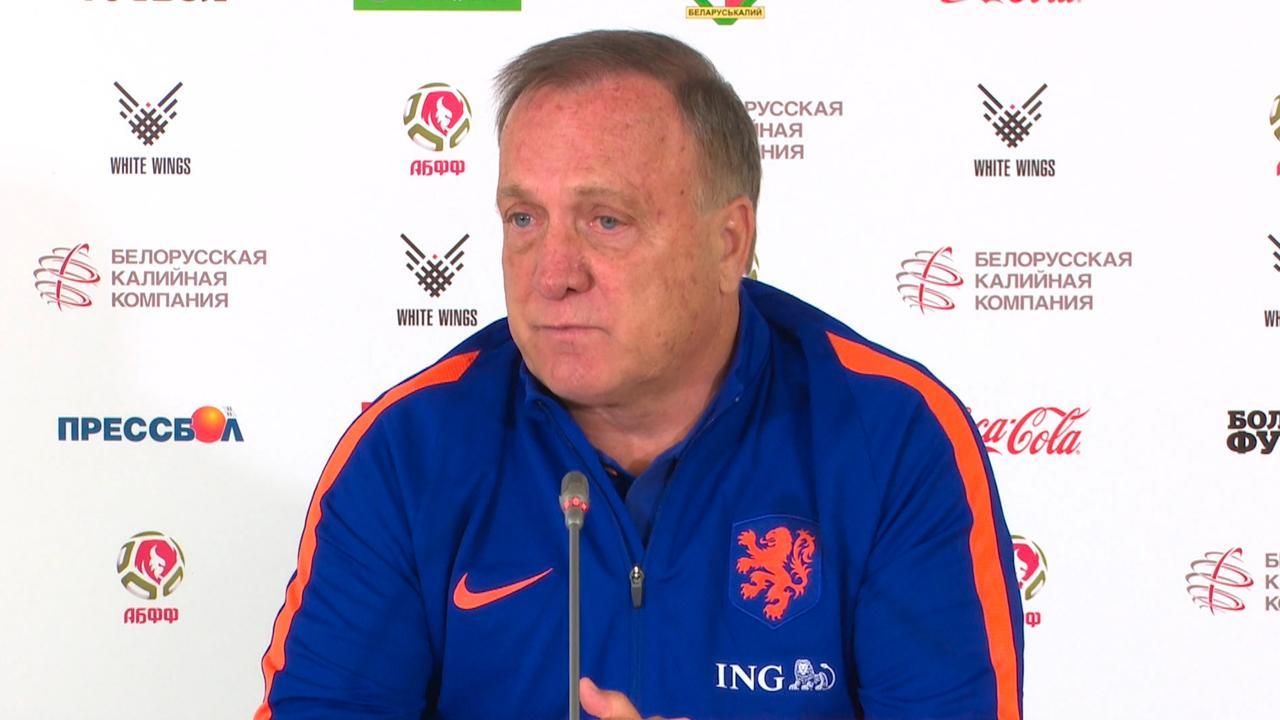 Dick Advocaat ziet dat Oranje gelooft in WK-kansen