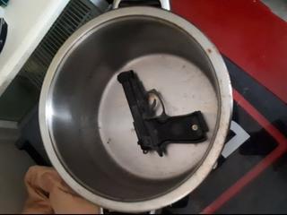 Vuurwapen in beslag genomen