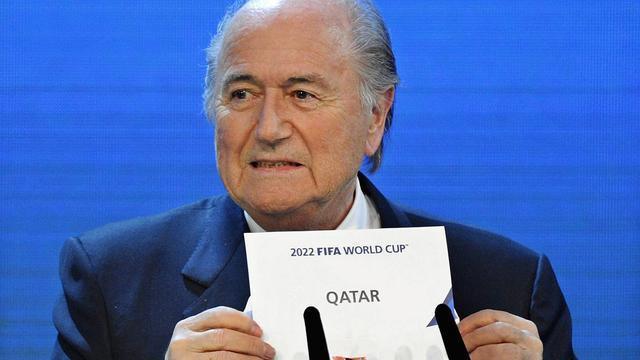 FIFA-voorzitter Blatter ontkent verantwoordelijkheid corrupte praktijken