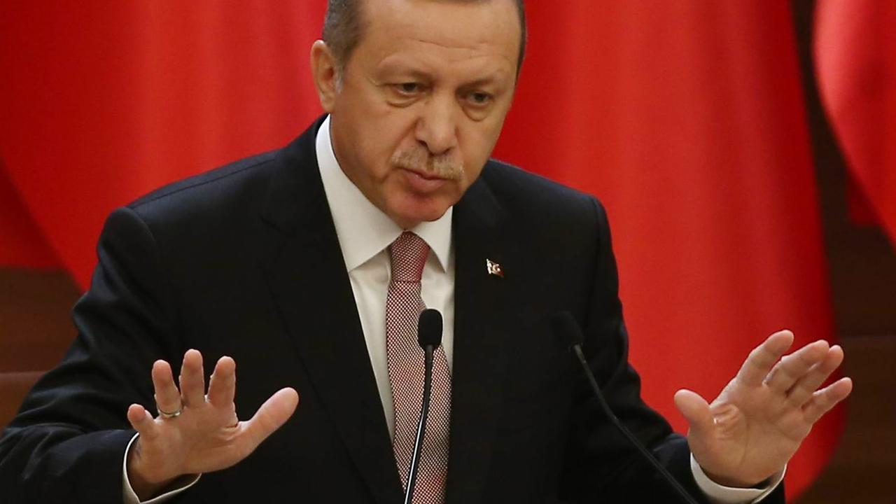 Erdogan vindt reactie Russen emotioneel en ongepast