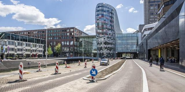 Gemeente Utrecht wil Catharijnesingel afsluiten voor doorgaand verkeer