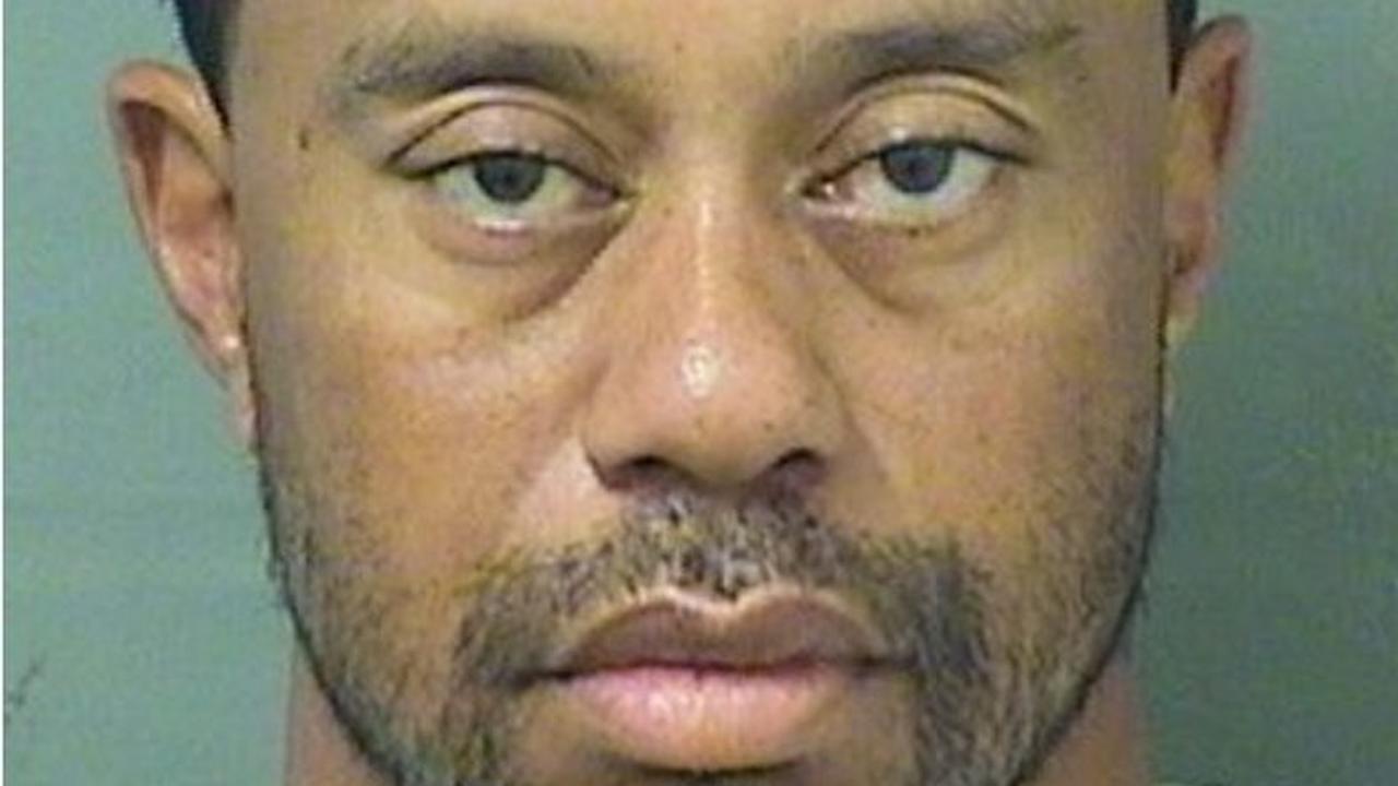Tiger Woods nacht in de cel voor rijden onder invloed
