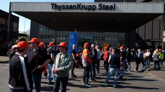 Acties in Duitse elektro- en metaalindustrie