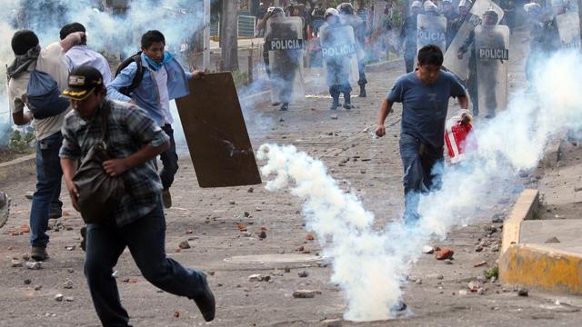Noodtoestand in zuiden Peru om protesten