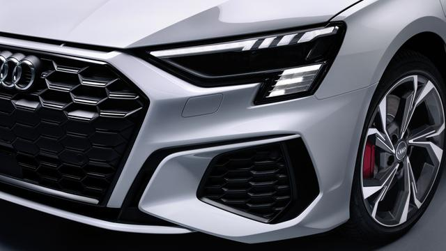 Hightech: de huidige generatie ledmatrixkoplampen van Audi.