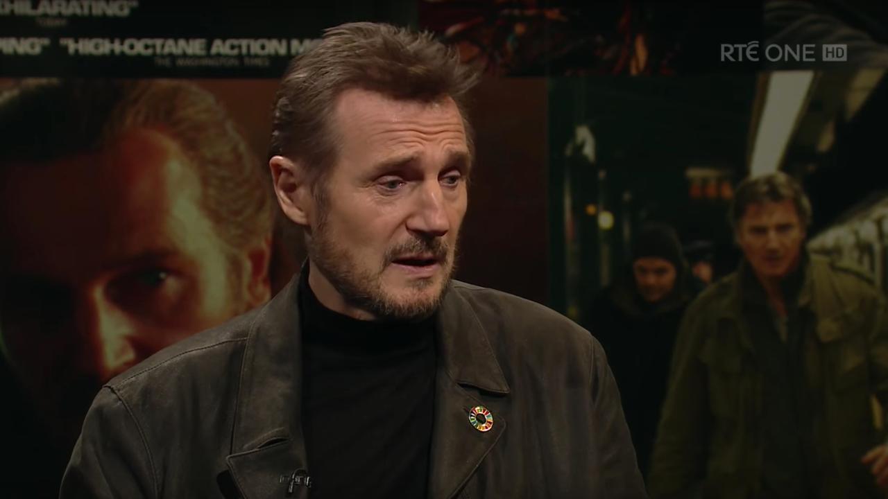 Liam Neeson laat zich uit over #metoo-beweging tijdens talkshow