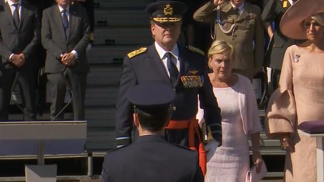 Koning reikt Militaire Willems-Orde uit in Den Haag