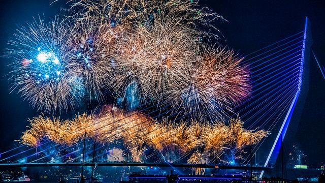 Dit jaar geen vuurwerkshows tijdens jaarwisseling in Rotterdam