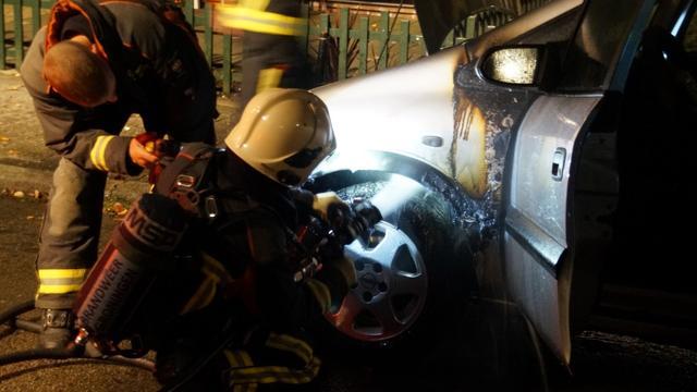 Auto in brand gestoken in Selwerd