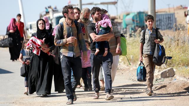 Honderden vluchtelingen Irak ziek door voedselvergiftiging
