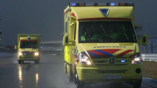 Ambulancepersoneel houdt stiptheidsacties in Utrecht