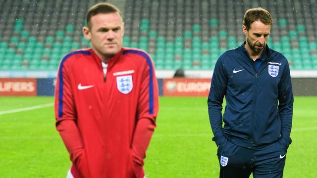 Southgate benadrukt dat interlandloopbaan Rooney nog niet voorbij is