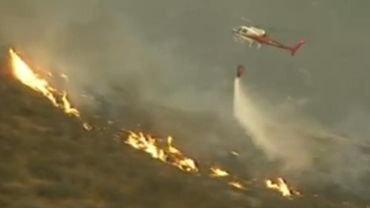 Duizenden hectare natuur verbrand nabij Los Angeles
