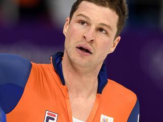 Bergsma blij dat hij eerder dan Kramer op het ijs mag