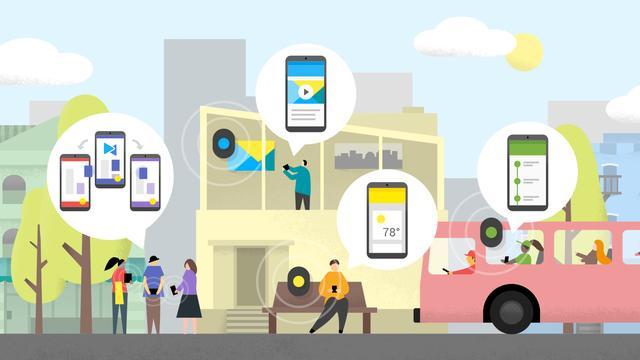 Google kondigt open platform voor beacons aan