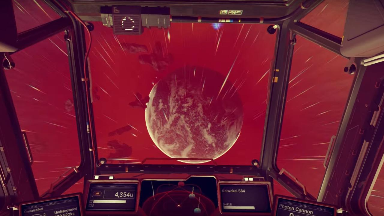 Trailer No Man's Sky