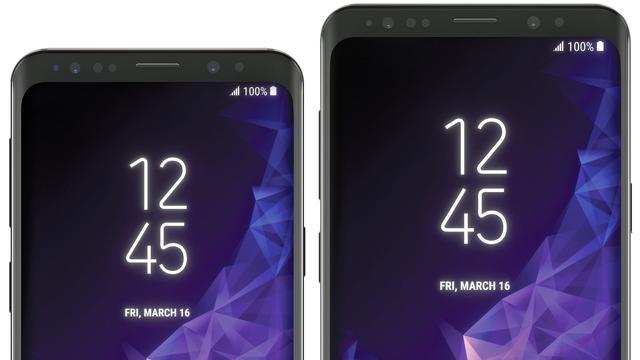 'Samsung Galaxy S9 krijgt 5,8 inch Super Amoled-scherm'