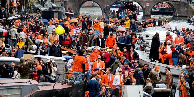 Gemeente Amsterdam: Koningsdag zonder grote incidenten