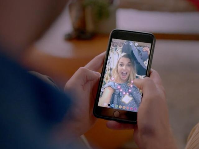Instagram voegt gezichtsfilters toe aan livestreams
