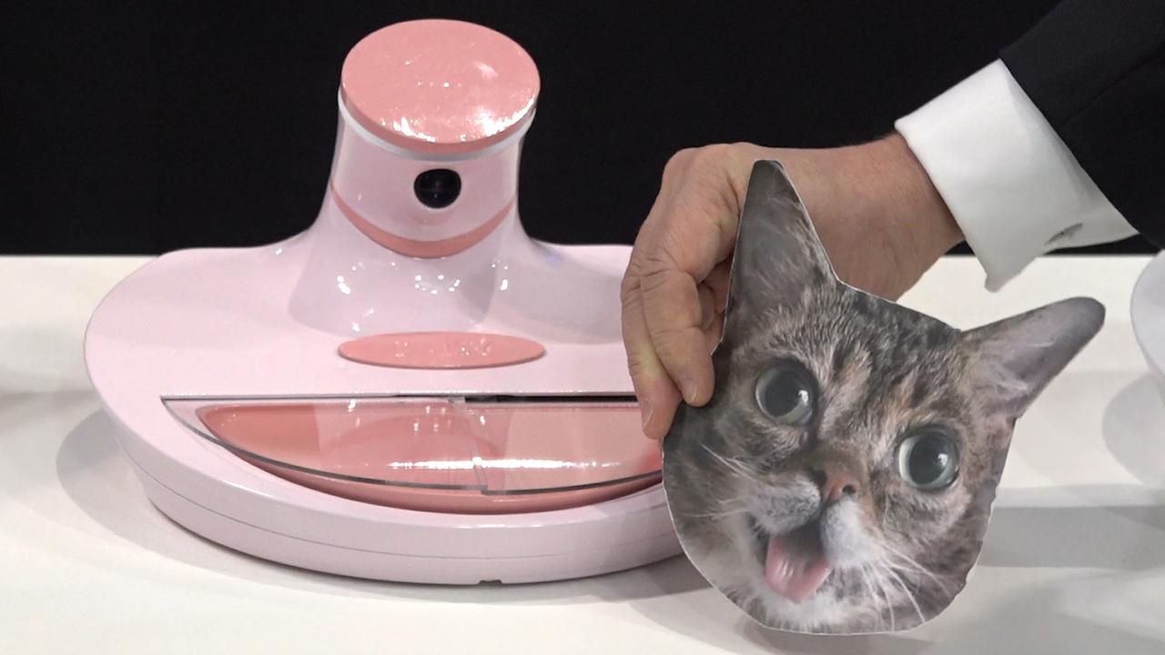 Voerbak met gezichtsherkenning sluit gestolen kattenvoer uit