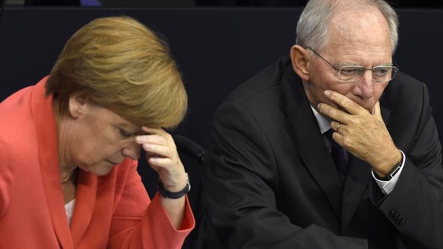 Grote meerderheid Duits parlement stemt voor Grieks akkoord
