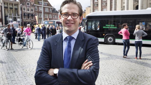 Wethouder Paul de Rook wil lijsttrekker van D66 worden