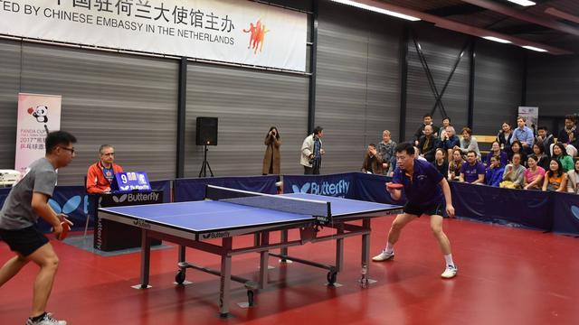 China haalt banden met Nederland aan bij met tafeltennis bij Scylla