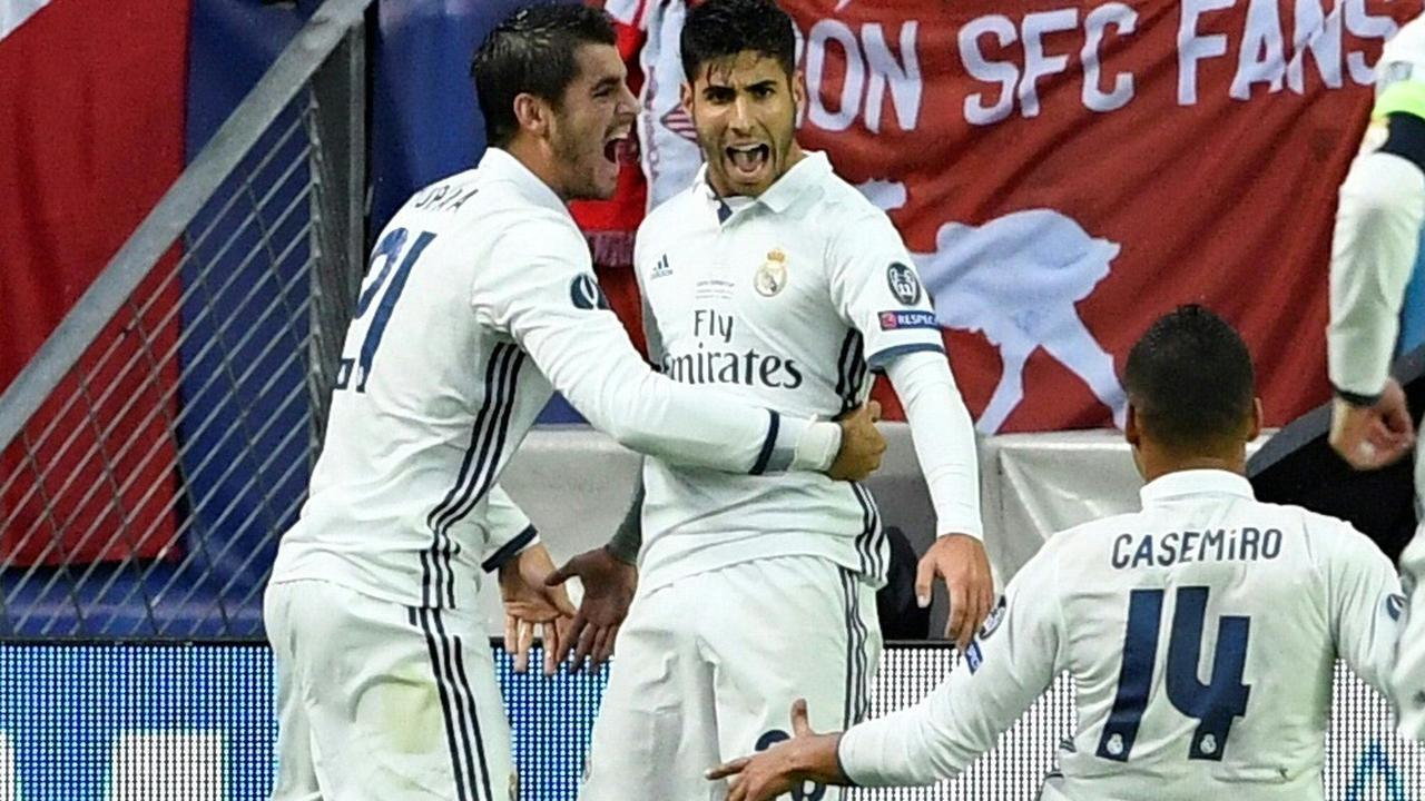 Asensio scoort op prachtige wijze voor Real Madrid