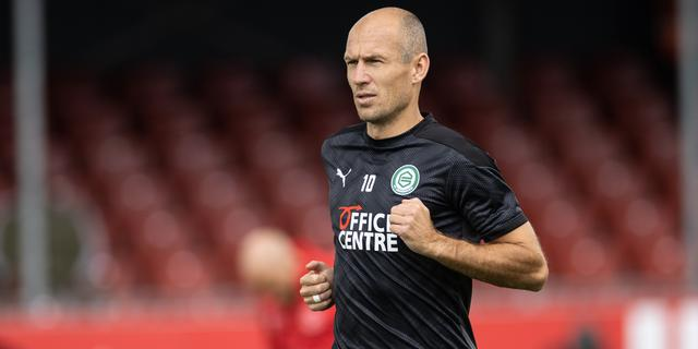 FC Groningen ziet revaliderende Robben graag nog een jaar doorgaan