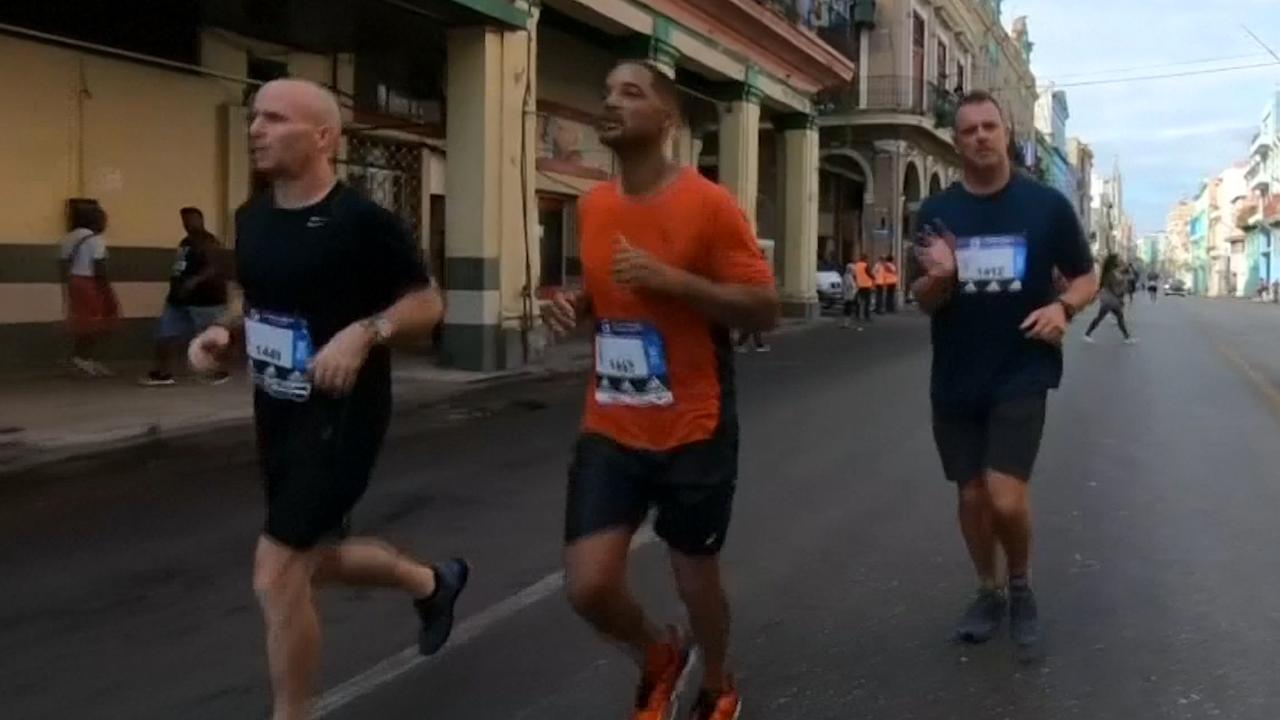 Will Smith streept halve marathon Havana van bucketlist