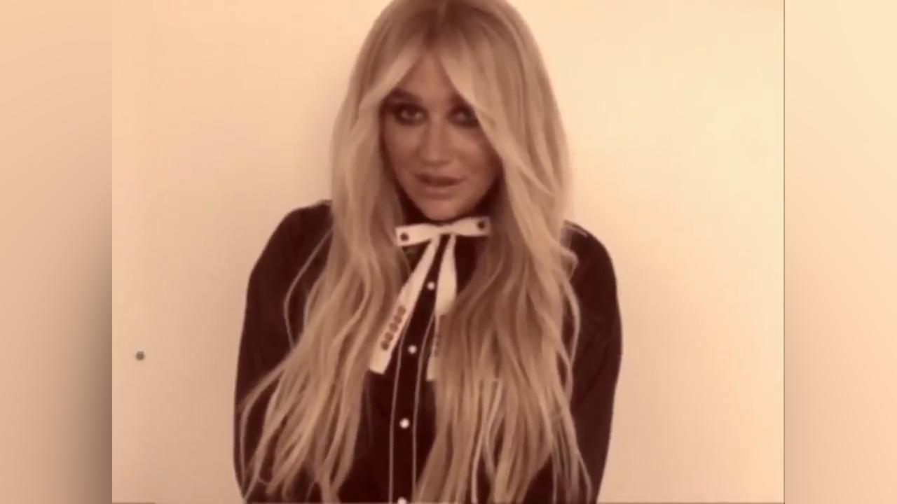 Kesha kondigt nieuwe single aan