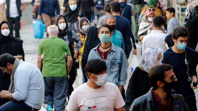 Iran meldt opnieuw recordaantal doden (450)