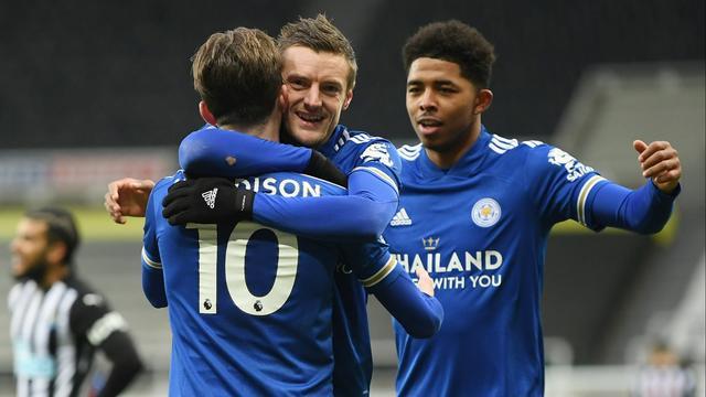 Leicester City boekte een nipte zege bij Newcastle United.