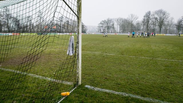 Groningse voetbalclub verslaat tegenstander met uitslag 40-0