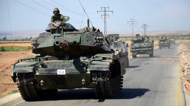 Turkije overweegt troepen verder Syrië in te sturen