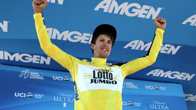 Eindzege Bennett in Ronde van Californië, ritwinst voor Huffman