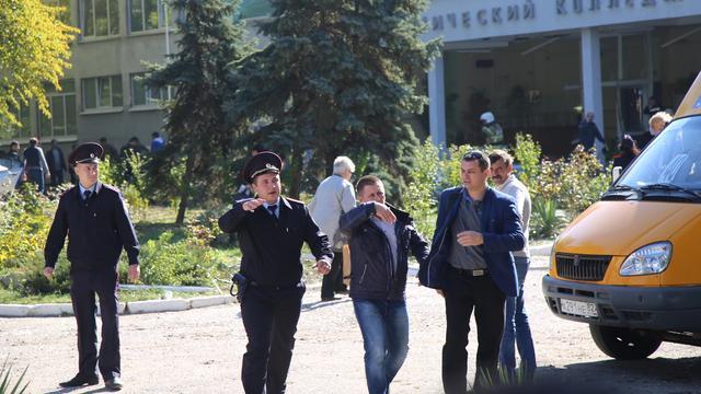 Dodental na schietpartij op school in de Krim stijgt naar twintig