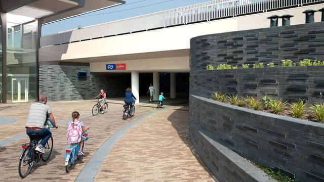 Station Europapark krijgt extra spoor en nieuw perron