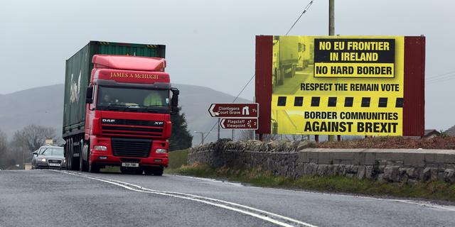 'Geen grens in Ierland na Brexit'