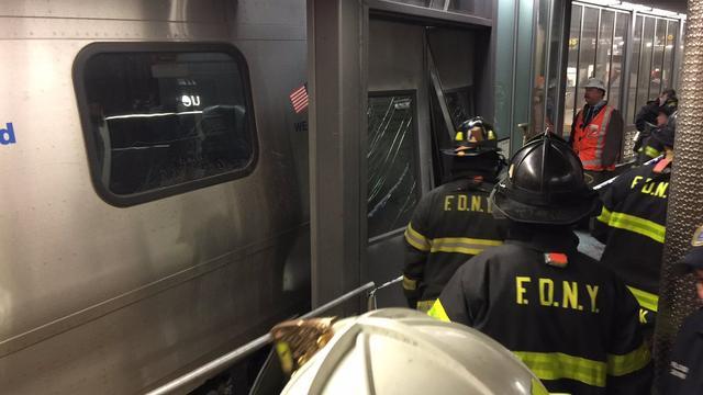 Meer dan honderd gewonden na ontspoorde trein in New York