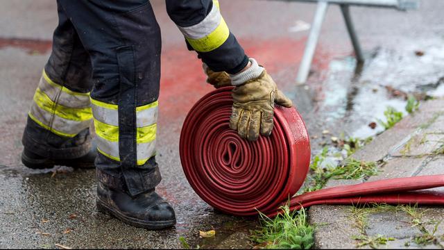Zeer grote brand bij recyclingbedrijf Moerdijk