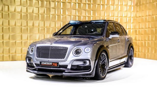 Startech biedt opvoerpakket voor Bentley Bentayga aan
