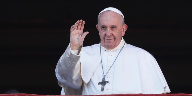 Paus betuigt in kersttoespraak steun aan slachtoffers van conflicten